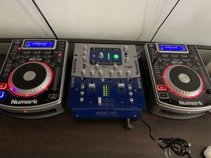 Dj equipment . Dxm06 mixer (2) unmarked ndx400 for Sale in Fort Lauderdale, FL