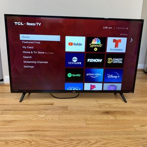 "TCL Roku 43"" Smart LED UHD (4K) HDR TV for Sale in Silver Spring, MD"