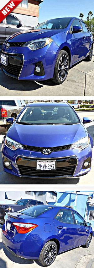 2015 Toyota CorollaS Plus 6MT for Sale in South Gate, CA