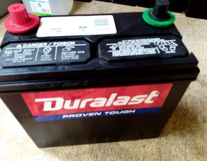 Duralast group 51R car truck battery perfect condition for Sale in Raleigh, NC