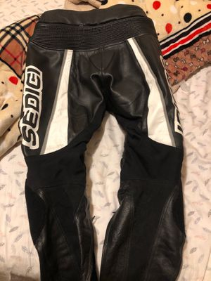 Motorcycle leather pant sedigi gear for Sale in Concord, CA