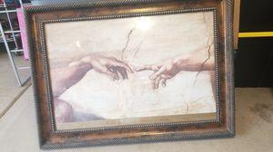 Artwork- Michelangelo The Creation of Adam for Sale in Scottsdale, AZ