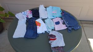 (12 MO) GIRLS CLOTHES (15 PIECES) $20 FOR ALL for Sale in Escondido, CA