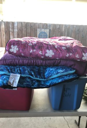 Sleeping bags (1adult, 2 youth) for Sale in Whittier, CA