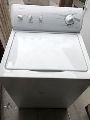 Kenmore washer and electric dryer for Sale in San Diego, CA