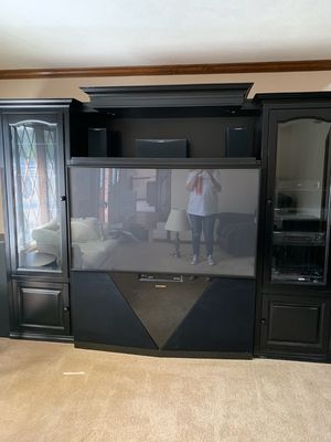 Custom made entertainment center for Sale in Obetz, OH