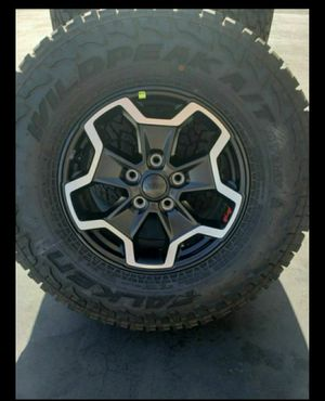 """17"""" Jeep Gladiator / Wrangler brand new wheels and tires for Sale in Solana Beach, CA"""