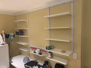 IKEA adjustable wall shelves. for Sale in Miami, FL