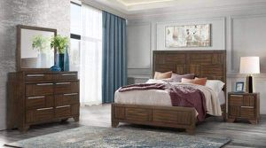 5 Pcs Queen Bedroom Set, only 1119$ for Sale in The Bronx, NY