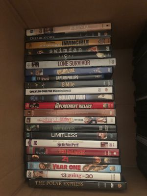 Movies - 1$ each / 5 for 3$ / 10 for 5$ for Sale in Hayward, CA