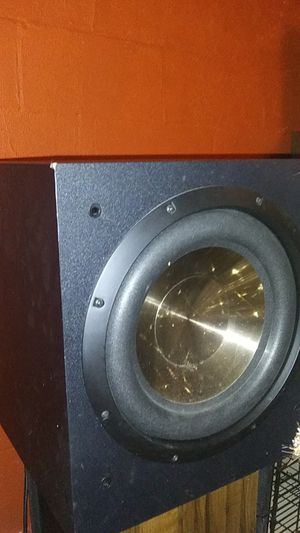 2 BIC F12 500 watts peak 12 inch Home Theater Subwoofers for Sale in Columbus, OH