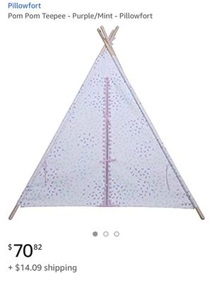 Pillowfort Pon Pon Teepee for Sale in Los Angeles, CA