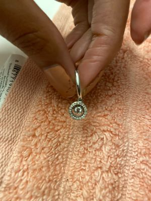 Diamond in motion earrings for Sale in Charlotte, NC