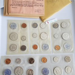5 US Proof Sets: 3/1961, 2/1956 #192 for Sale in Pompano Beach, FL
