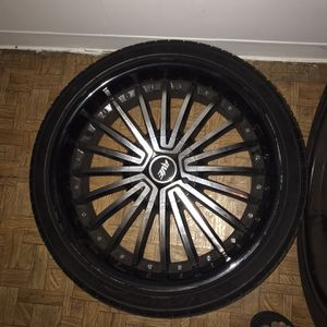 20's Black And Chrome for Sale in Bartlett, IL