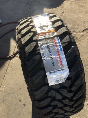 33/12.50R20 toyo MT single (1 only $190) for Sale in Norwalk, CA
