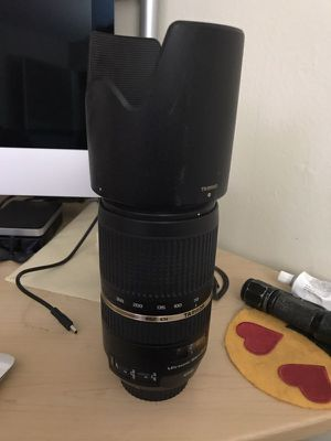 Tamron 70-300mm DI VC USD for Sale in Clearwater, FL