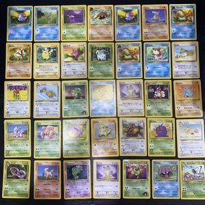 Vintage Pokémon Cards 1995 for Sale in San Ramon, CA