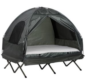 New Compact Pop Up Portable Folding Outdoor Elevated All in One Camping Tent Combo Set for Sale in Barnstable, MA