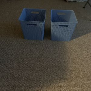 Blue Storage Containers Group of 3 for Sale in Westerville, OH