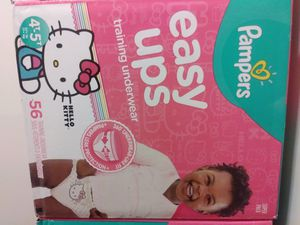 Pampers Easy Ups 4-5T(56 Count) for Sale in Lithonia, GA