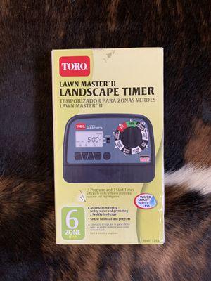 Toro Lawn Master II 6-Zone Sprinkler Timer for Sale in San Ramon, CA