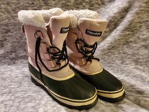 Ozark Trail thinsulated insulation. Pink women's winter boots for mild to extreme temperatures size 7 for Sale in Vancouver, WA
