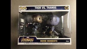 Thor vs. Thanos Funko Pop Movie Moment Avengers Infinity War 707 BRAND NEW MINT for Sale in Dallas, TX