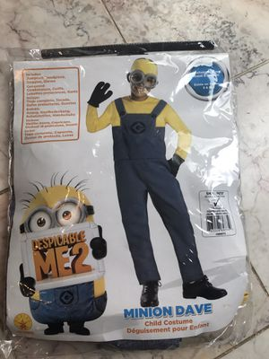 Minions Dave boys costume for Sale in Frederick, MD