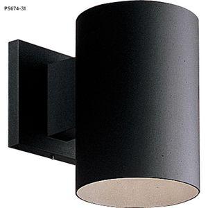 Progress Lighting 1-Light Black 7.25 in. Outdoor Wall Lantern for Sale in Dallas, TX