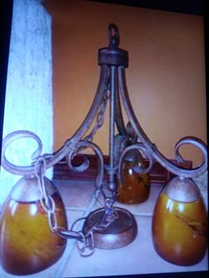 """Beautiful Chandelier . like new. 19"""" h ( without the chain) for Sale in Spring Hill, FL"""