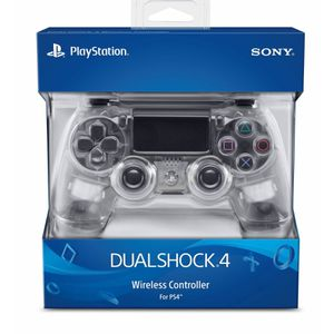 PLAYSTATION 4 PS4 DUALSHOCK 4 WIRELESS CONTROLLER CLEAR for Sale in Los Angeles, CA