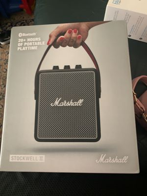 Marshall stockwell II for Sale in San Jose, CA