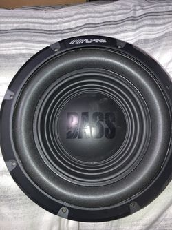 """2 10"""" Apline Subs for Sale in Mart,  TX"""