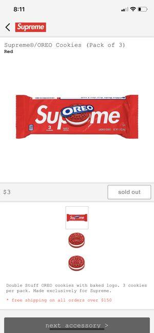 Supreme Oreos read description for Sale in Perris, CA