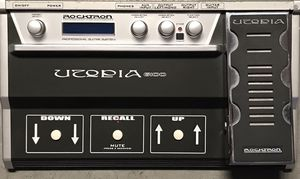 Rocktron electric guitar floor effects processor with Wah pedal for Sale in Los Angeles, CA