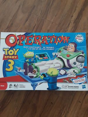 Operation game Toy story 3, brand new. for Sale in Riverside, CA