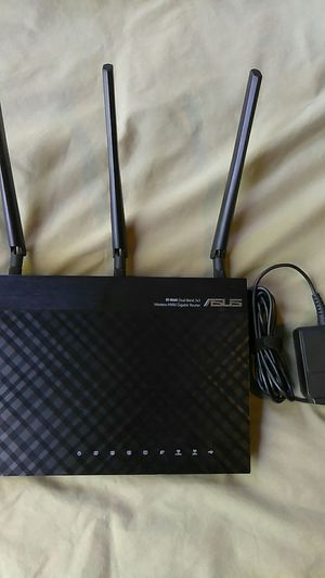Asus black knight gaming wifi router for Sale in Portland, OR