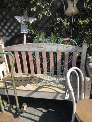 Garden Bench for Sale in Morro Bay, CA