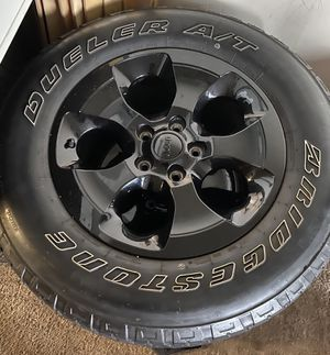 Jeep wheel package for Sale in Wheaton, MD