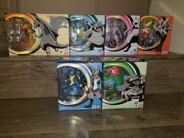 Pokemon D Arts set of 6