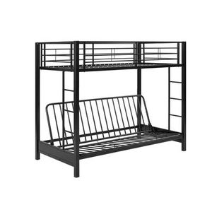 Twin bunk bed with a futon bottom for Sale in Walton Hills, OH