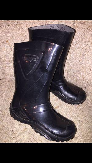 Rain boots 12-13 boy/girl for Sale in Modesto, CA
