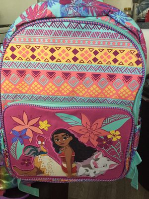 Disney Moana girls backpack new for Sale in El Monte, CA