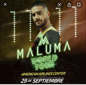 2 maluma tickets for Sale in Mesquite, TX
