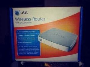 AT&T Wireless Router W/ DSL Modem for Sale in Tacoma, WA