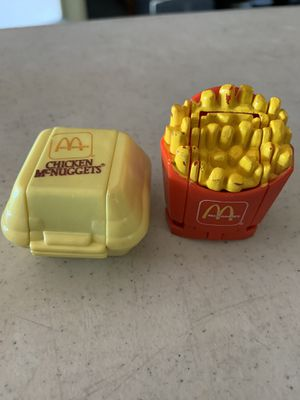 1st Series 1987 Mc Donald's Food Changeables for Sale in Whittier, CA