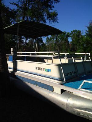 1998 16ft pontoon for Sale in Harrison, MI