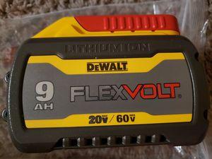 Dewalt 9.0 Battery (FIRM PRICE) for Sale in Fullerton, CA