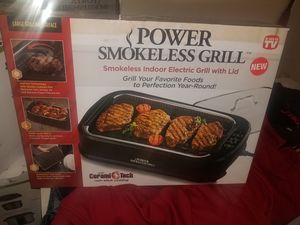 Cerami Tech Power Smokeless Grill for Sale in Detroit, MI